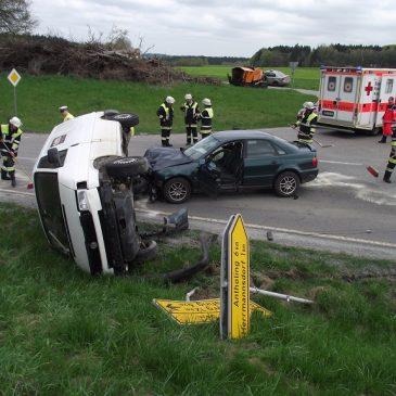 Verkehrsunfall – PKW Überschlag