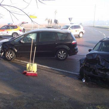Verkehrsunfall – Höhe Herrmansdorf