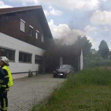 Kellerbrand in Oberpframmern