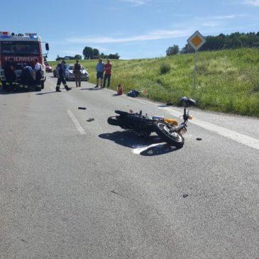 Verkehrsunfall – Motorrard