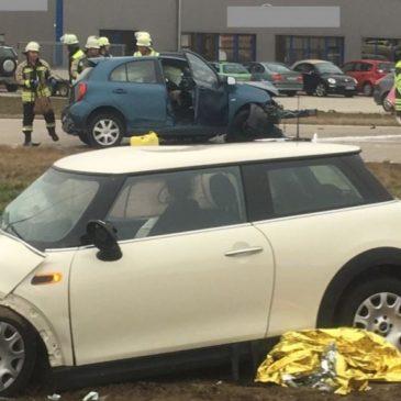 Verkehrsunfall – höhe Berganger