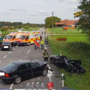 Verkehrsunfall – höhe Sonnenhausen
