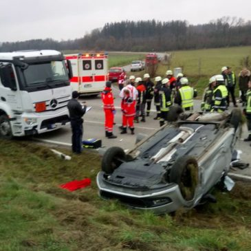 Verkehrsunfall – ST2079 Abzweigung Antholing