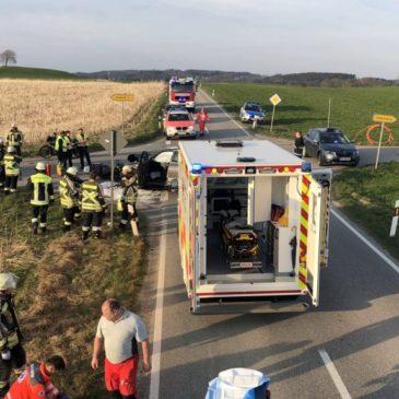 Verkehrsunfall – Motorrad mit PKW