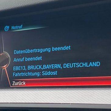 schwerer Verkehrsunfall zwischen Glonn und Bruck