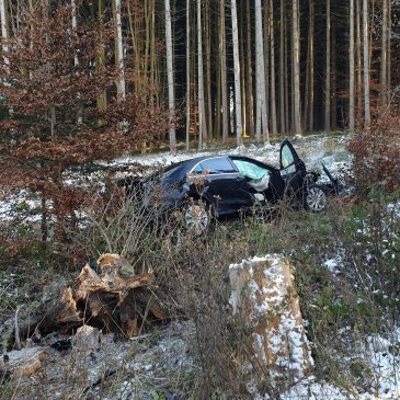 schwerer Verkehrsunfall als Jahresabschluss