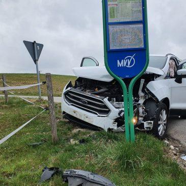 Verkehrsunfall zwischen Glonn und Bruck