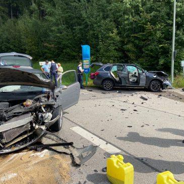 Verkehrsunfall nähe Zinneberg